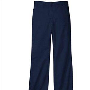 George Girls School Uniform Flat Front Bootcut